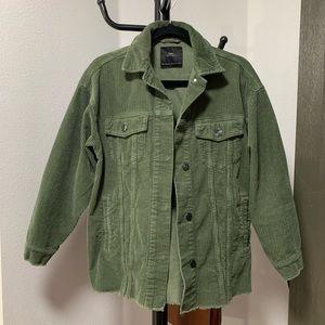 XS OLIVE Zara Utility Jacket